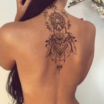 Tatouage mandala femme : 50+ idées de tatouages et leurs significations 184