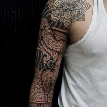 Tatouage mandala femme : 50+ idées de tatouages et leurs significations 171