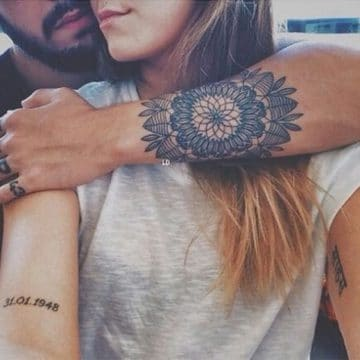 Tatouage mandala femme : 50+ idées de tatouages et leurs significations 168