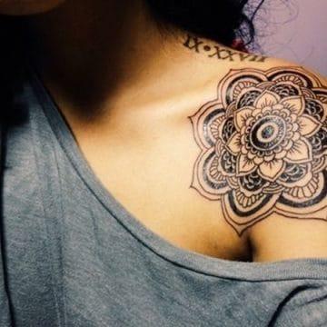 Tatouage mandala femme : 50+ idées de tatouages et leurs significations 157