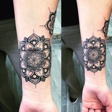 Tatouage mandala femme : 50+ idées de tatouages et leurs significations 155