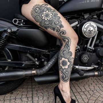 Tatouage mandala femme : 50+ idées de tatouages et leurs significations 108