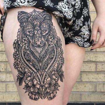 Tatouage mandala femme : 50+ idées de tatouages et leurs significations 142