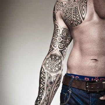 Tatouage mandala femme : 50+ idées de tatouages et leurs significations 201