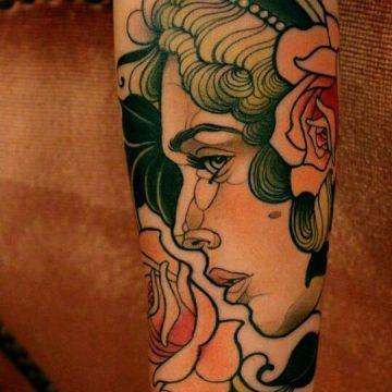 Tatouage manchette femme : 50+ idées de tatouages et leurs significations 57