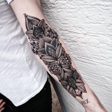 Tatouage manchette femme : 50+ idées de tatouages et leurs significations 60