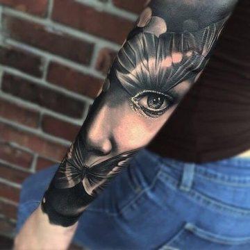 Tatouage manchette femme : 50+ idées de tatouages et leurs significations 62