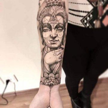 Tatouage manchette femme : 50+ idées de tatouages et leurs significations 64