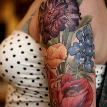 Tatouage manchette femme : 50+ idées de tatouages et leurs significations 67