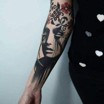 Tatouage manchette femme : 50+ idées de tatouages et leurs significations 76