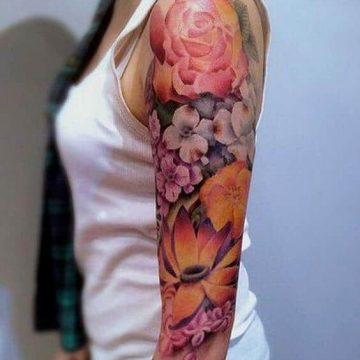 Tatouage manchette femme : 50+ idées de tatouages et leurs significations 77