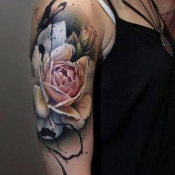Tatouage manchette femme : 50+ idées de tatouages et leurs significations 83