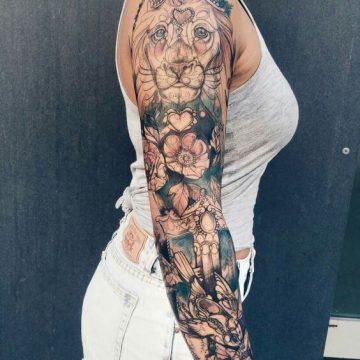 Tatouage manchette femme : 50+ idées de tatouages et leurs significations 88