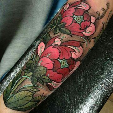 Tatouage manchette femme : 50+ idées de tatouages et leurs significations 91