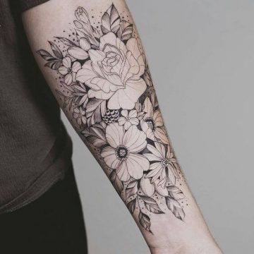 Tatouage manchette femme : 50+ idées de tatouages et leurs significations 95