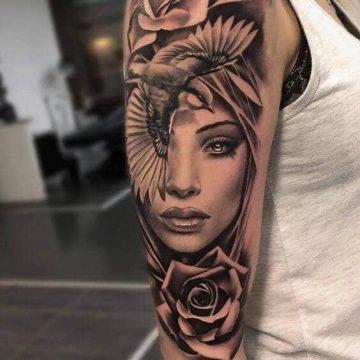 Tatouage manchette femme : 50+ idées de tatouages et leurs significations 96