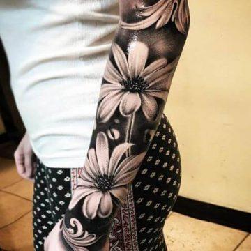 Tatouage manchette femme : 50+ idées de tatouages et leurs significations 97