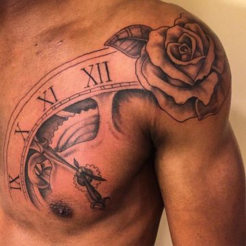 Tatouage rose : 150+ idées de tatouages et leurs significations 253