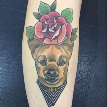 Tatouage rose : 150+ idées de tatouages et leurs significations 146