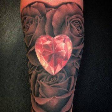 Tatouage rose : 150+ idées de tatouages et leurs significations 137
