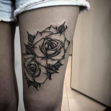 Tatouage rose : 150+ idées de tatouages et leurs significations 135