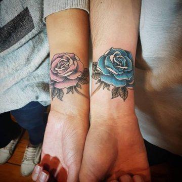 Tatouage rose : 150+ idées de tatouages et leurs significations 156