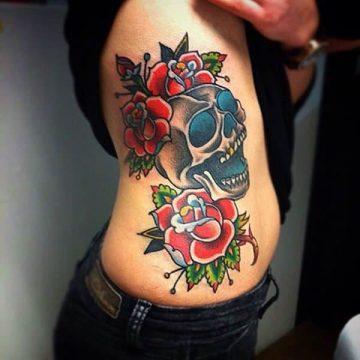 Tatouage rose : 150+ idées de tatouages et leurs significations 175
