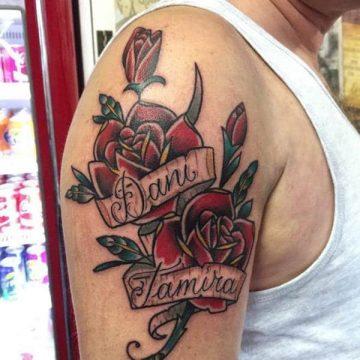 Tatouage rose : 150+ idées de tatouages et leurs significations 168