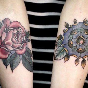 Tatouage rose : 150+ idées de tatouages et leurs significations 165