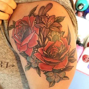 Tatouage rose : 150+ idées de tatouages et leurs significations 161