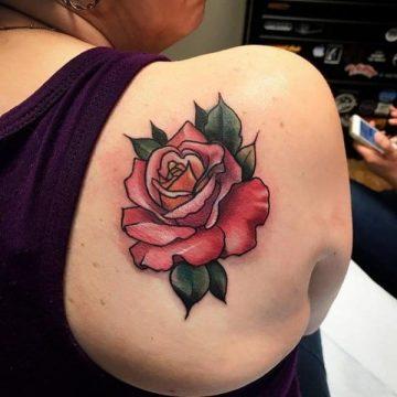 Tatouage rose : 150+ idées de tatouages et leurs significations 160