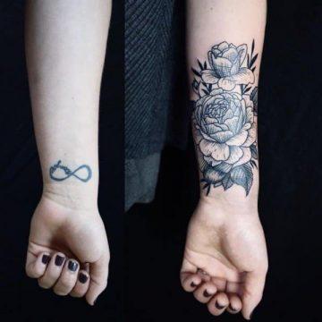 Tatouage rose : 150+ idées de tatouages et leurs significations 154