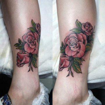 Tatouage rose : 150+ idées de tatouages et leurs significations 152