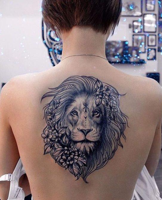 Le meilleur tatouage de lion pour vous et votre roi intérieur de la jungle! Top 151 30