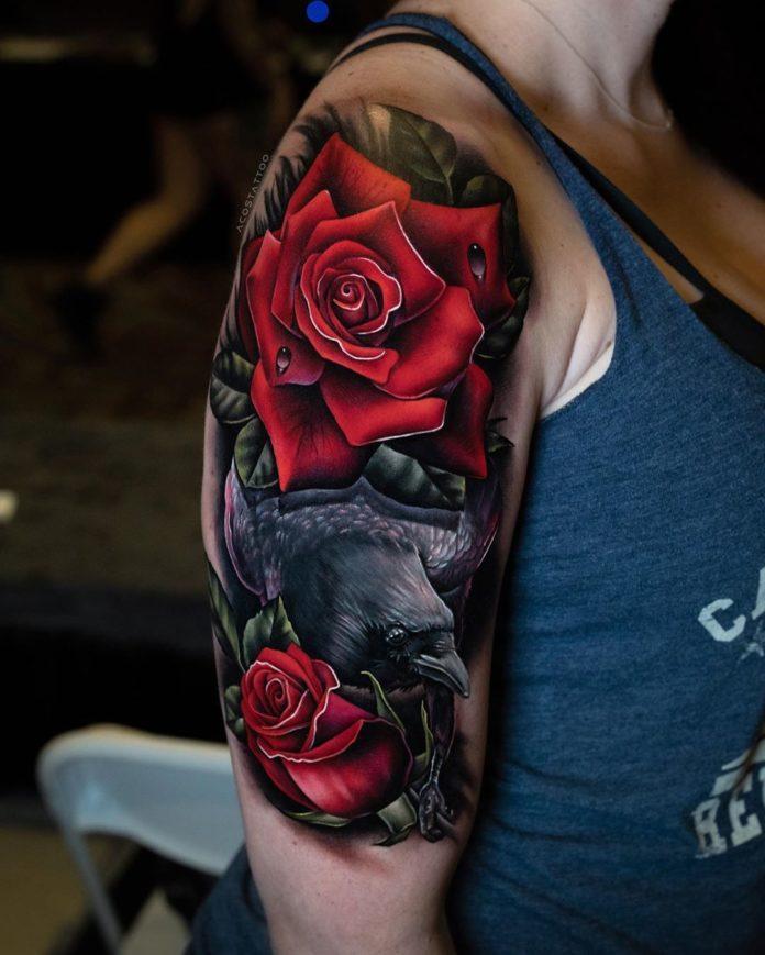 16 nouveaux - 100 tatouages roses pour femmes