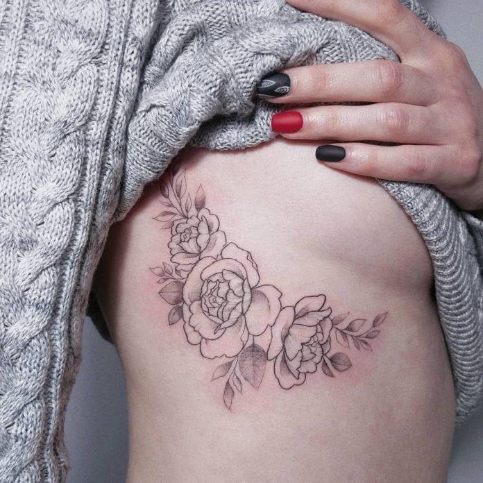 100 - 50 Superbes Tatouages Côte pour Femme