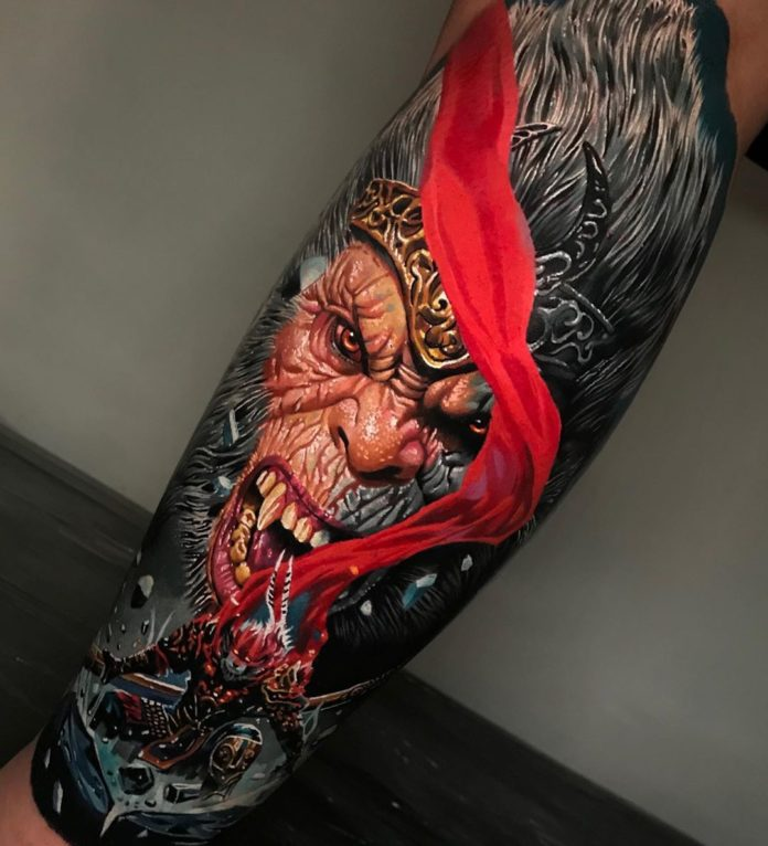 13 9-100 beaux tatouages réalistes pour hommes