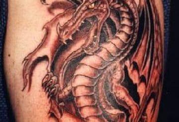 18 magnifiques dessins de tatouage pour les dragons 2