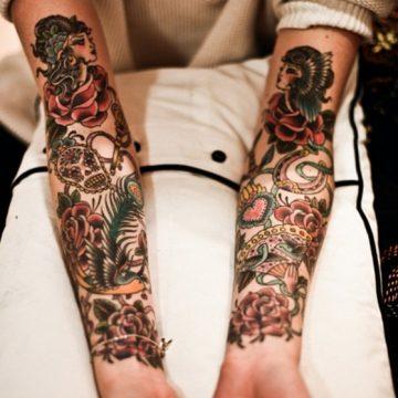 Choisissez le tatouage à manches courtes qui vous convient 15