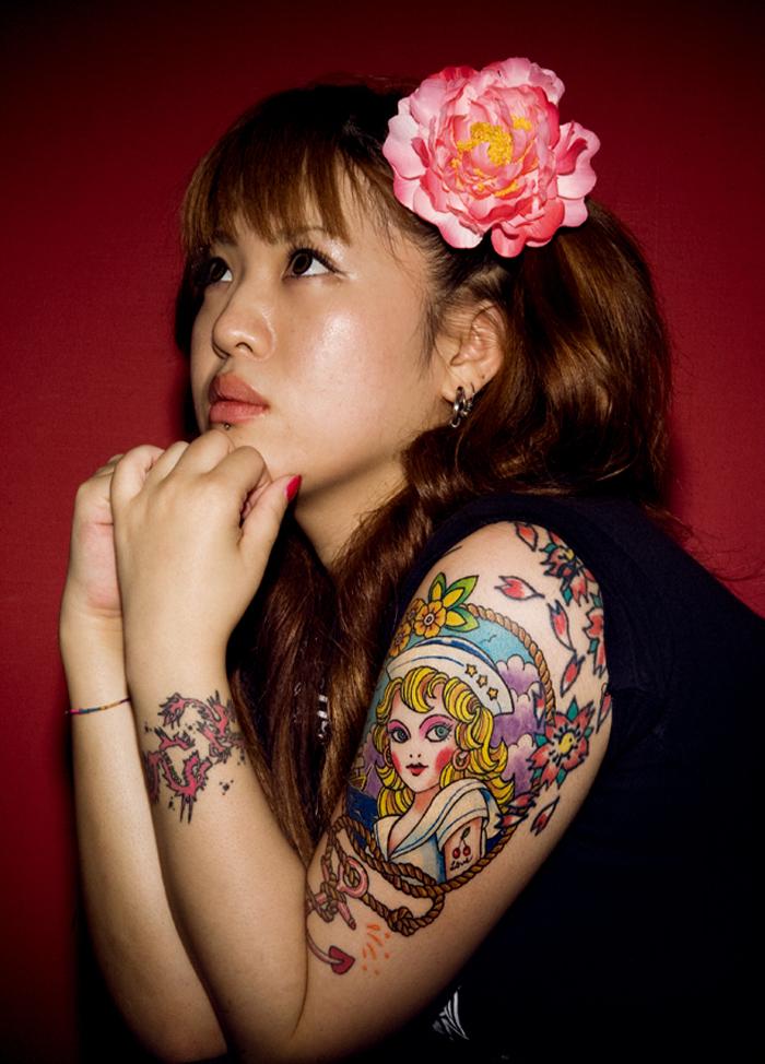 Dessins de tatouage demi-manche 54