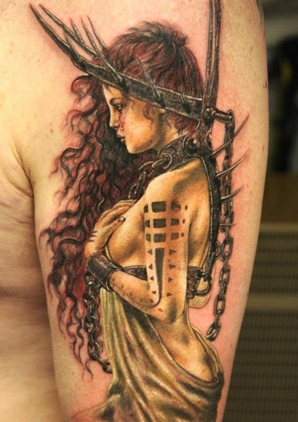 Dessins de tatouage demi-manche 41
