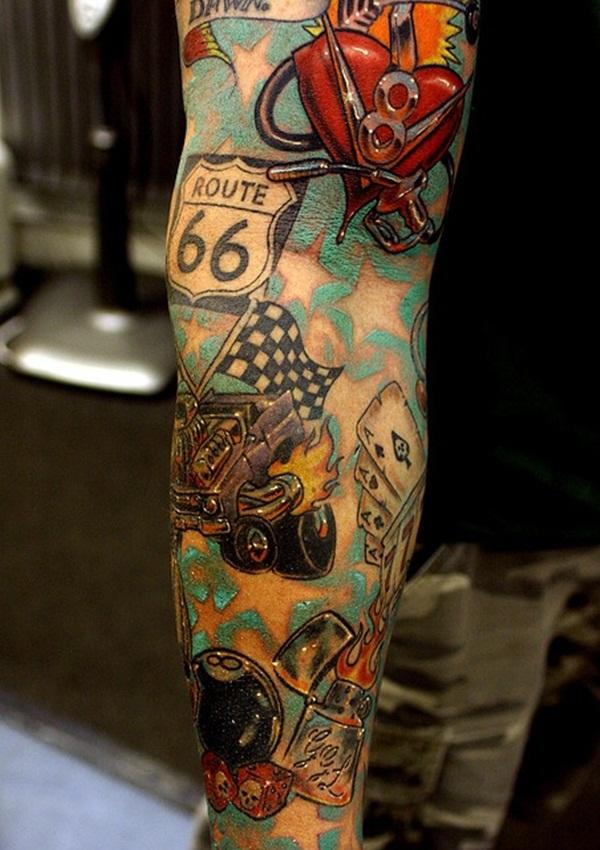 Designs de tatouage avec demi-manche 33