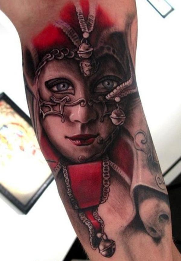 Dessins de tatouage demi-manche 29