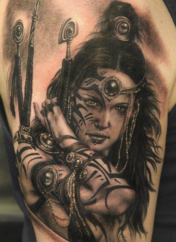 Designs de tatouage avec demi-manche 16