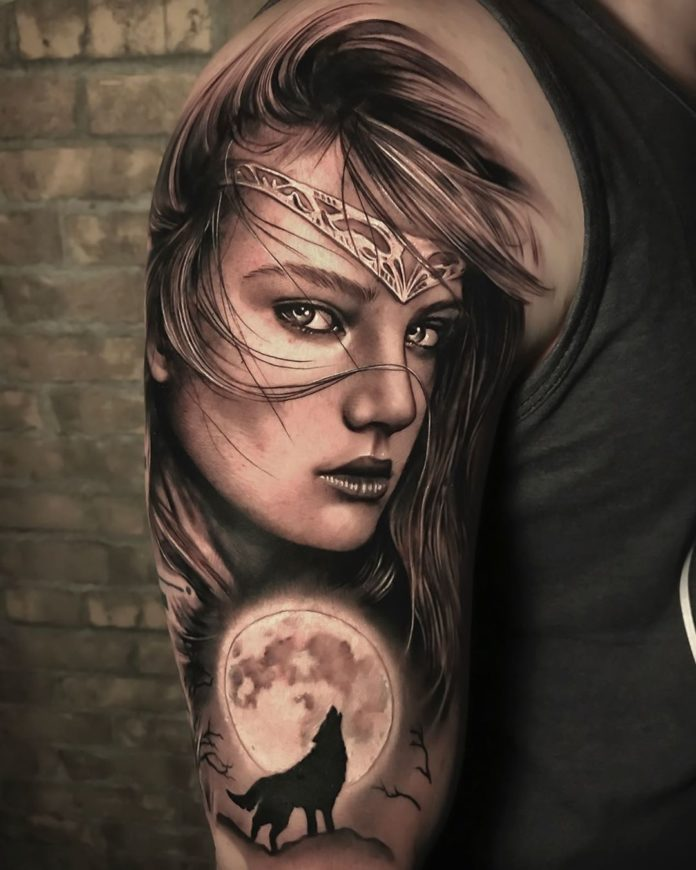 38 2 à 100 beaux tatouages réalistes pour hommes