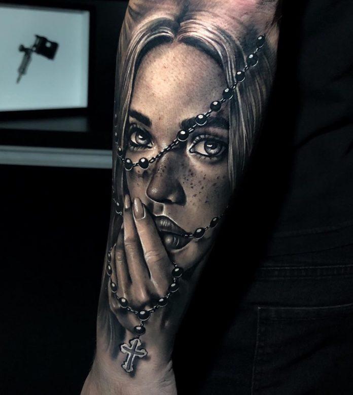 16 3-40 tatouages croisés pour hommes
