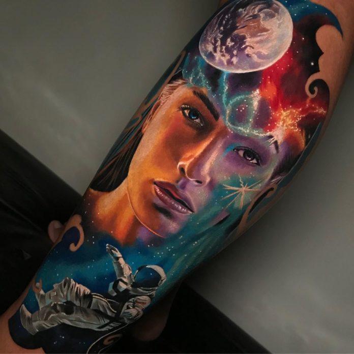 16 8-100 beaux tatouages réalistes pour hommes