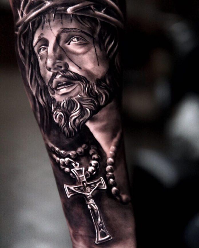 19 2-40 tatouages croisés pour hommes