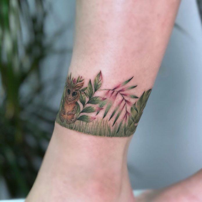 2-50 tatouages à la cheville pour les femmes