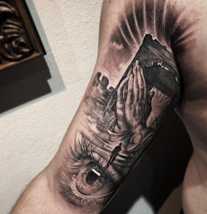 21 4-40 tatouages biceps pour hommes